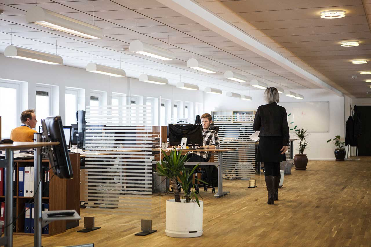 BHP w biurze
